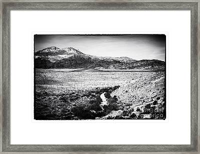 End Of The Journey Framed Print by John Rizzuto