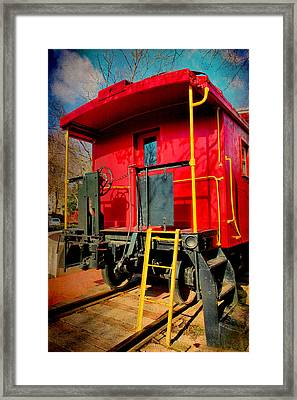 End Of The Line Framed Print by Steven Ainsworth