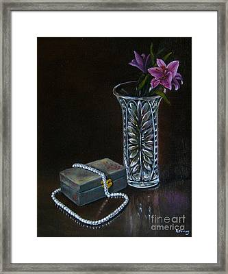 End Of The Night Framed Print