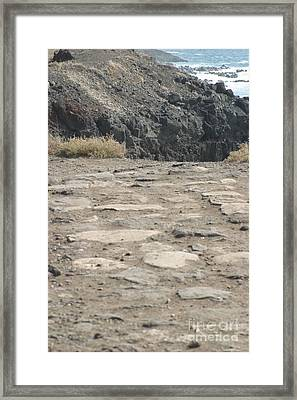 End Of The Road Framed Print by Anthony Trillo