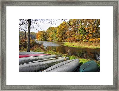 End Of The Season Framed Print by Dan Myers