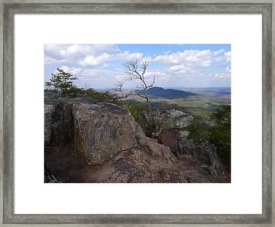 End Of The Trail Framed Print by Joel Deutsch