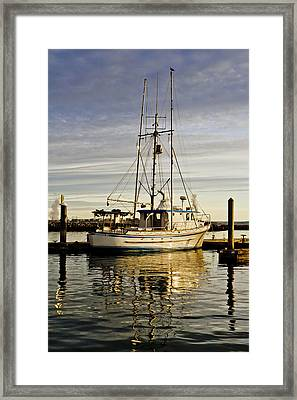 End Of Workday Framed Print by Tony Locke