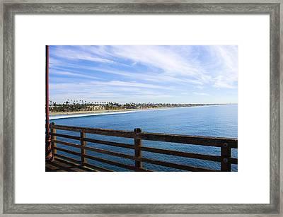 Endless Beach Framed Print