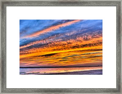 Endless Color Framed Print