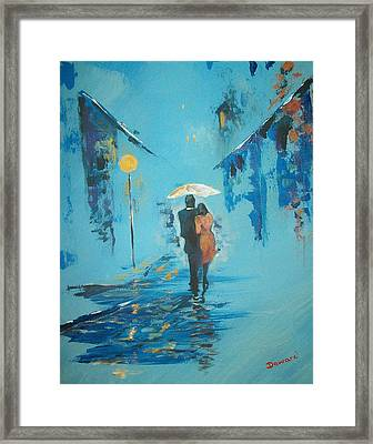 Endless Love Framed Print by Raymond Doward