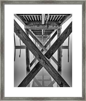 Endless Pier Framed Print by Brian Young
