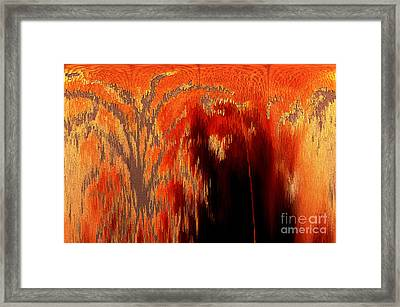 Endless Pit Framed Print by Donna Brown