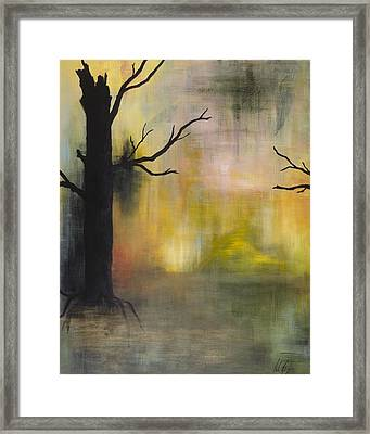 Endless Swamp Framed Print by Nicole Williams
