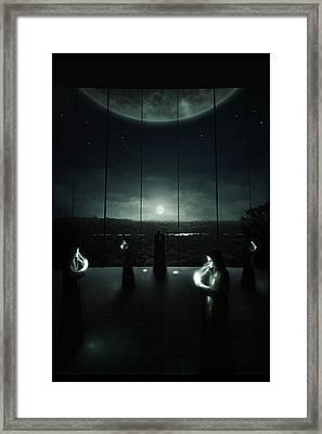 Enelysion Framed Print by Martin Bland
