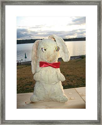 Energizer Bunny No More Framed Print by Kym Backland