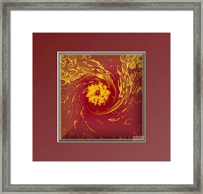 Energy And Stars Framed Print by Ines Garay-Colomba