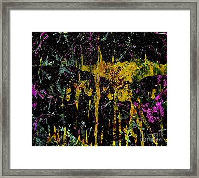 Energy Dance Framed Print by Fania Simon