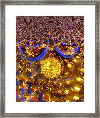 Energy Field Framed Print by Michael Durst