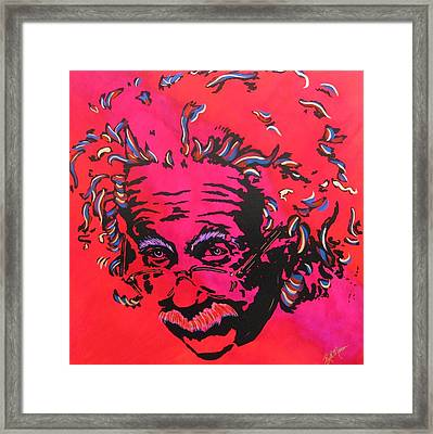 Energy Of Life Framed Print by Bill Manson