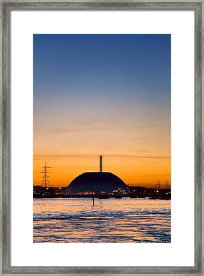 Energy Recovery Facility, Southampton, Uk Framed Print by Paul Rapson
