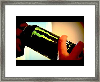 Framed Print featuring the photograph Energy by Rima Biswas