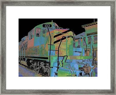 Engine 103 Framed Print