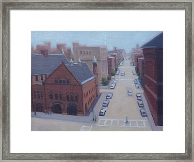 Engine 33 Framed Print by Tommy Cherry