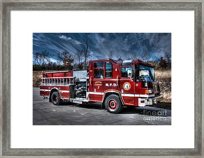 Engine 7 Framed Print by Tommy Anderson