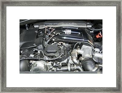 Engine Bay Framed Print by Johnny Greig
