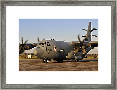Framed Print featuring the photograph Engine Start Complete by Dan Myers