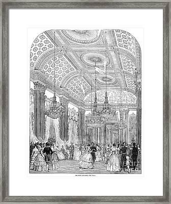 England - Royal Ball 1848 Framed Print by Granger