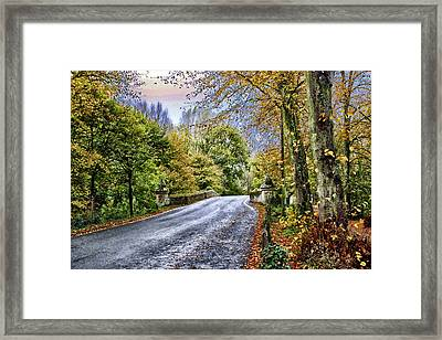 England Country Side Framed Print by Neil Campbell