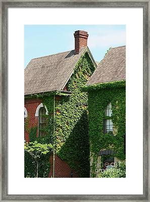 England In Kentucky Framed Print