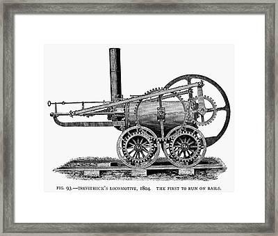 England: Locomotive, 1804 Framed Print