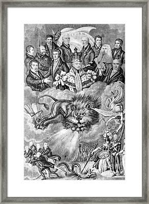 England: Reform, 1830 Framed Print by Granger