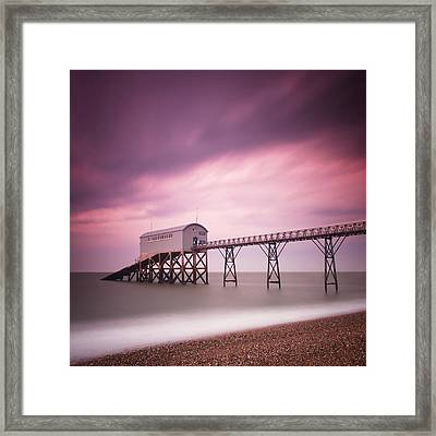 England Selsey Framed Print by Nina Papiorek