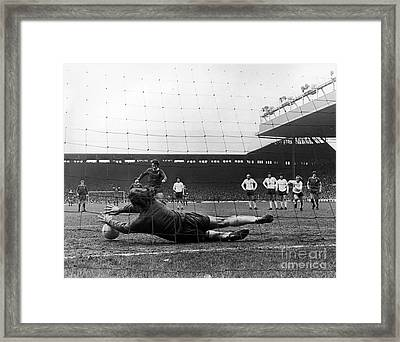 England: Soccer Game, 1973 Framed Print by Granger