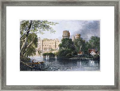 England: Warwick Castle Framed Print by Granger