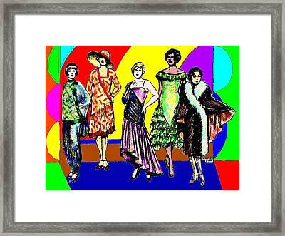 English Models Framed Print by Mel Thompson