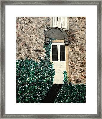 English Stone Framed Print