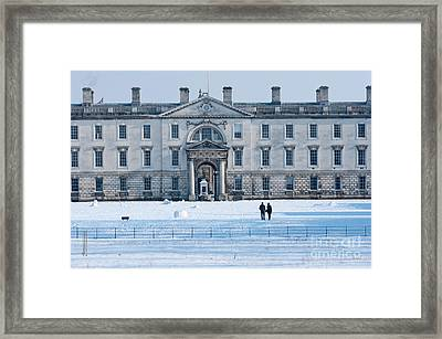 Framed Print featuring the photograph English Winter by Andrew  Michael