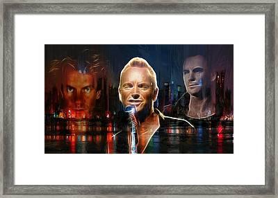 Englishman In New York Framed Print by Steve K