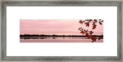 Enjoy Fall ... Framed Print by Juergen Weiss