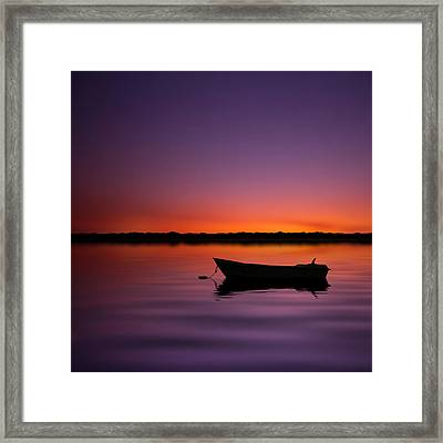 Enjoying Serenity Framed Print