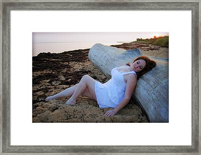 Enjoying The Sunrise Framed Print by Rick Berk