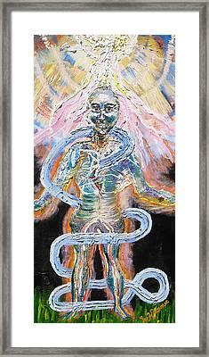 Enlightened Framed Print by Lisa Kramer