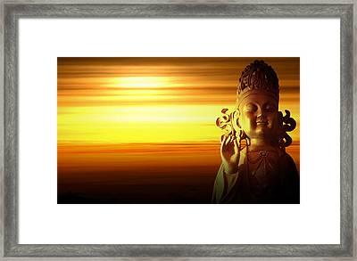 Enlightenment Framed Print