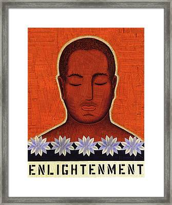 Enlightenment Framed Print by Gloria Rothrock