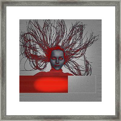 Enlightnment Framed Print by Naxart Studio