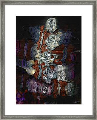Ennui To Apathy Framed Print by Casey Kotas