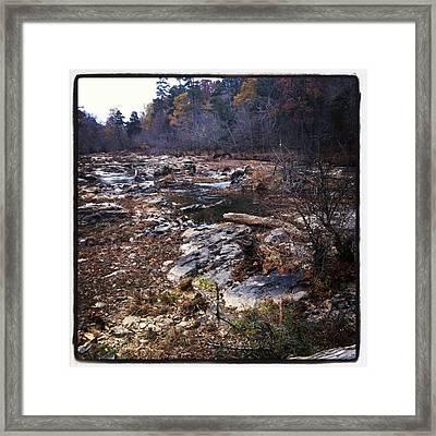 Eno River Framed Print by Shabnam Nassir