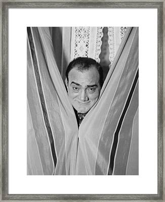 Enrico Caruso 1873-1921, Smiling Framed Print by Everett