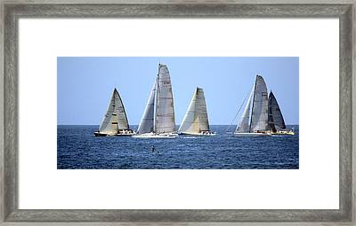 Ensenada Race Xiv Framed Print