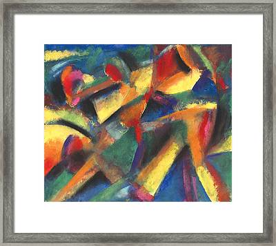 Ensename Framed Print by John Crespo Estrella